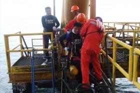 中海油平湖油田平台检测