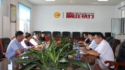 河口区人大常委会副主任郭玉珍到海盛化工公司调研