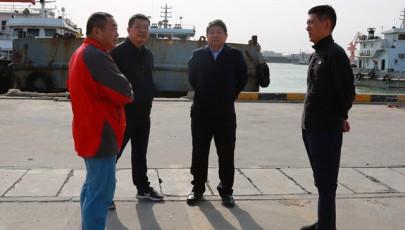 采油厂领导到海盛工程公司检查指导工作